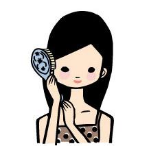 静電気を抑えるタイプのブラシを選び、髪をいたわりましょう。
