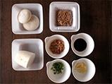 納豆からみ餅 材料