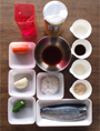 鯖の竜田揚げ野菜あんかけ 材料