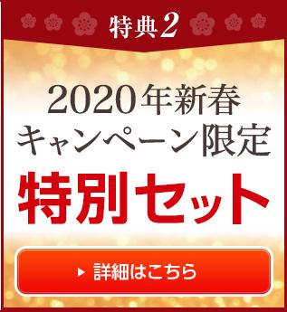 2020年新春キャンペーン限定特別セット!