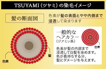 TSUYAMIの染毛イメージ